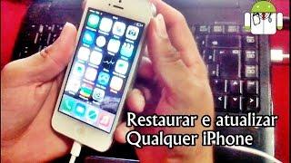 getlinkyoutube.com-Resetar e atualizar qualquer iPhone - Hard Reset #UTICell