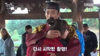 getlinkyoutube.com-BEAST 비스트 Yoon Doojoon Mini Drama 2015 Splash Splash LOVE BTS Cut 8