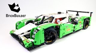 getlinkyoutube.com-Lego Technic 42039 24 Hours Race Car - Lego Speed build