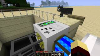 getlinkyoutube.com-BuildCraft Part3-Oil and pump tutorial