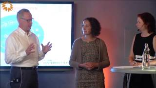 Varumärkesseminarium Västerbotten i Almedalen 2015 - Anna Pettersson och Mikael Wiberg
