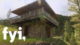 getlinkyoutube.com-Tiny House Nation: A Tour of the Fire Lookout (S1, E5) | FYI