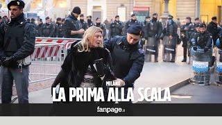 """getlinkyoutube.com-Tra metal detector, militari e """"contro sfilate"""": la strana Prima alla Scala"""