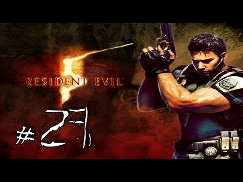 Resident Evil 5 Walkthrough / Gameplay with LazyCanuckk Part 27 - The Godly Red/Green Herb