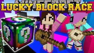 getlinkyoutube.com-Minecraft: EPIC CONCERT LUCKY BLOCK RACE - Lucky Block Mod - Modded Mini-Game