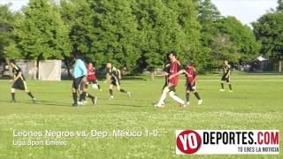 Leones Negros vs  Deportivo México