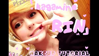 getlinkyoutube.com-★Simple!★ Kagamine Rin Makeup Tutorial