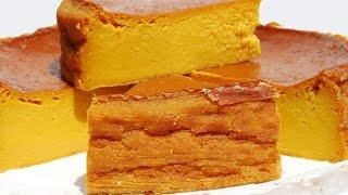 getlinkyoutube.com-Pastel de Calabaza - Torta de Auyama - Haloween