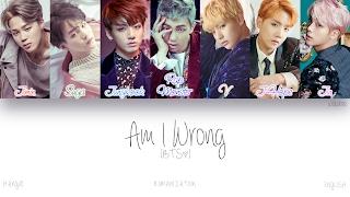[HAN|ROM|ENG] BTS (방탄소년단)   Am I Wrong (Color Coded Lyrics)
