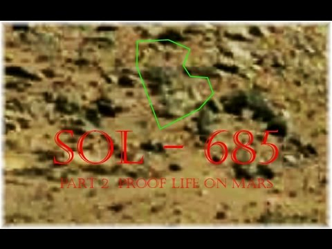 NASA  Curiosity Part 2  Proof  Of  Life  On  Mars  SOL - 685 -  Anomaly  Research