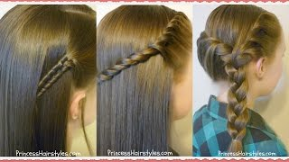 getlinkyoutube.com-3 Easy Back To School Hairstyles