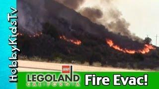 getlinkyoutube.com-Our Legoland FIRE Evacuation! Carlsbad, California News Update: May 2014 HobbyKidsVids