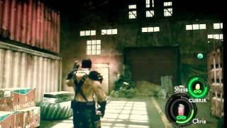 getlinkyoutube.com-Resident Evil 5 Granadas infinitas-como usarlas