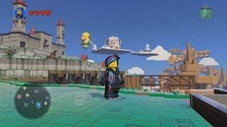 getlinkyoutube.com-LEGO Dimensions - LEGO Movie World - Open World Free Roam Gameplay