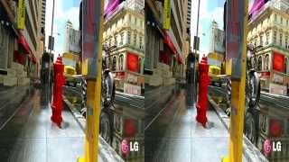 getlinkyoutube.com-LG 3D Demo - Cinema 3D World II - 3D Side by Side (SBS)