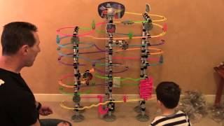 Marble Run Time Lapse Build