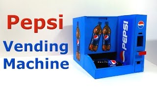 getlinkyoutube.com-How to make Pepsi Vending Machine
