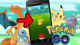 getlinkyoutube.com-Pokemon GO : 精靈寶可夢GO ➲ 一開始就遇到皮卡丘 !?!