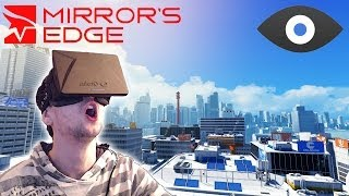 getlinkyoutube.com-MIRROR'S EDGE with the OCULUS RIFT | I'M SCARED OF HEIGHTS!!