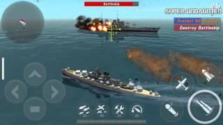 getlinkyoutube.com-[WARSHIP BATTLE] Episode 7 Mission 4 - Yorktown Launched