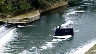 Russian Submarine stranded in River Avon, Bath!