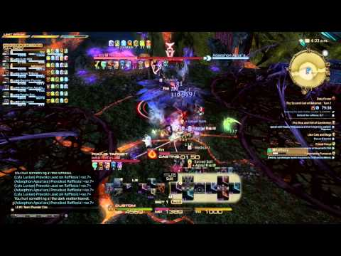 Binding Coil of Bahamut, Turn 6 Rafflesia. Turtles Paradise - Wutai