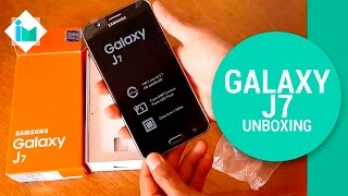 getlinkyoutube.com-Samsung Galaxy J7 - Unboxing en español