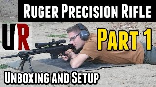 getlinkyoutube.com-Ruger Precision Rifle: Unboxing, Overview, Setup, Sight-In
