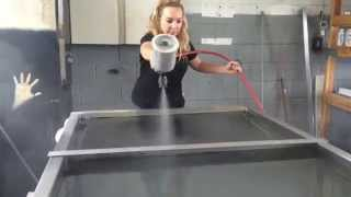 Hydro Dipping Air Compressor tank in Carbon Fiber