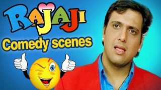getlinkyoutube.com-All comedy scenes of RAJAJI - Govinda, Raveena Tandon - Superhit Comedy Movie