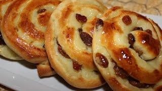 getlinkyoutube.com-Brioche Crème pâtissière et raisin sec...بريوش بالكريمة و الزبيب