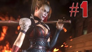 getlinkyoutube.com-Batman Arkham Knight - Harley Quinn Gameplay Walkthrough Part 1