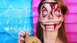 getlinkyoutube.com-Alice Madness Returns: Insane/Asylum Child Makeup Tutorial