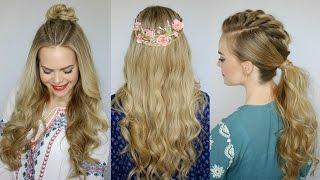 getlinkyoutube.com-3 Coachella Inspired Hairstyles | Missy Sue