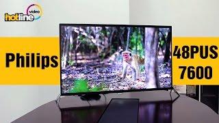 getlinkyoutube.com-Philips 48PUS7600 - обзор 4K UHD телевизора на базе ОС Android