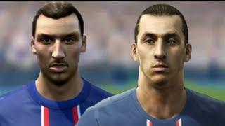 FIFA 13 v PES 13 Faces Head to Head [HD] part 4