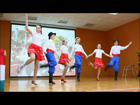 Танцевальные баттлы в 6-х классах. Шоу «Многоликий мир» - 2019