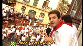 getlinkyoutube.com-El Insoportable, Fiesta de San Fermín - Videomatch