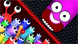 FUNNIEST SLITHERIO MOMENTS EVER | Best Slither.io Hack (Funny Moments & Trolling)