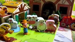 getlinkyoutube.com-Mickey Mouse had a farm / Mickey Mouse tenía una granja