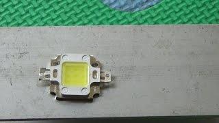 Memasang Led Besar 10 Watt 12 Volt Pada Motor