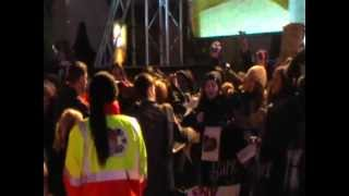 Rupert Grint signing at the Deathly Hallows Part 1 Premiere in London