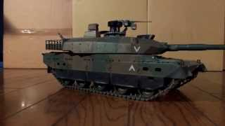 getlinkyoutube.com-10式戦車 TAMIYAフルオペ TEST2