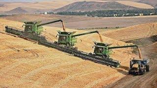 getlinkyoutube.com-COMBINE HARVEST 2013 | Claas | New Holland | Fendt | John Deere | Tractors | AgrartechnikHD