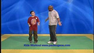 getlinkyoutube.com-Kids Workout with Paul Eugene