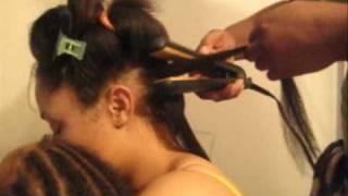 getlinkyoutube.com-How-to do a CORRECT Press Out (on Natural Hair)