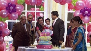 getlinkyoutube.com-Grand Entrance - An Indian First Birthday Party Video Mississauga