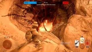getlinkyoutube.com-Star Wars Battlefront - Battle Mode - Tatooine + Sarlacc Pit