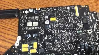 getlinkyoutube.com-MacBook Pro Laptop - Liquid Spill Repair