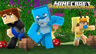 getlinkyoutube.com-Minecraft PETS - BABY DUCK GETS EATEN BY A CROCODILE!!! w/Baby Duck!!